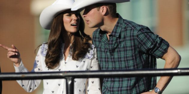 William And Kate In Calgary: White Hats For Royal Couple
