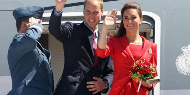 William And Kate Bid A Fond