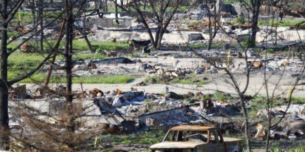 Slave Lake: Heavy Rains Soak Fire-Hit