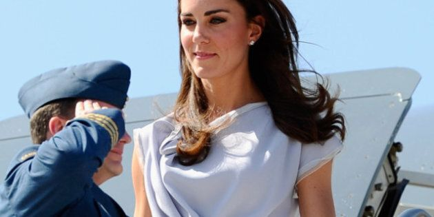 William And Kate Tour: Royal Couple Arrives In
