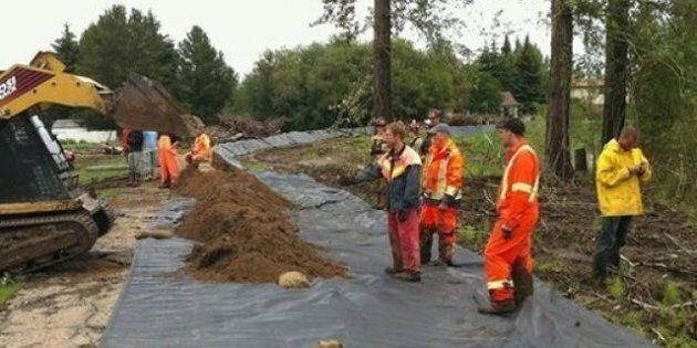 Slave Lake Upbeat Despite Flooding