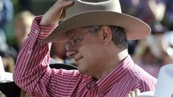 Harper Burns NDP, Liberals At Stampede