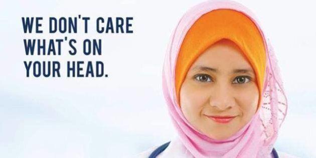 Oshawa's Lakeridge Health Ad Takes Jab At Proposed Quebec Values