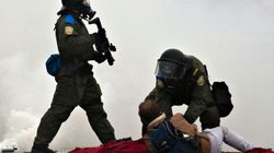 Protest Takes Violent Turn At Quebec Liberal