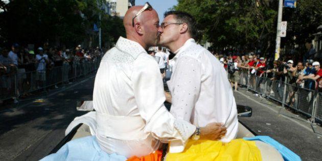 Harper Backs Down on Gay