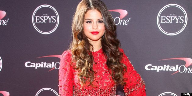 LOS ANGELES, CA - JULY 17: Singer/actress Selena Gomez attends the 2013 ESPY Awards at Nokia Theatre...