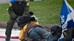 Protester Suffers Life-Threatening