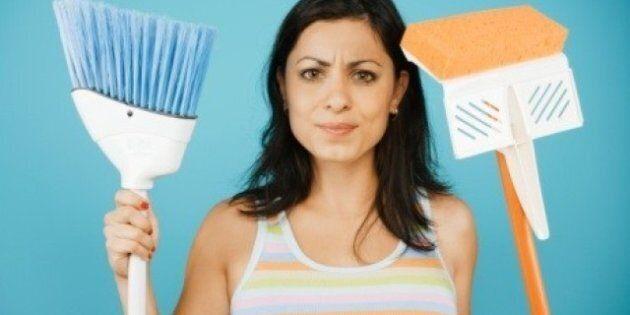Housework Gender Gap Narrowing, But Women Still Doing Most Of