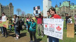 Parliament Hill Protesters Demand Public Inquiry Into