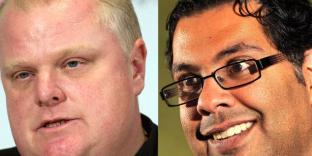 Rob Ford And Naheed Nenshi: Rookie Mayors Are Opposite In Style, But Face Same Fiscal