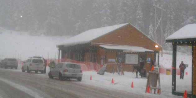 Snow Blankets B.C.'s South