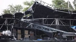 Stage Collapses As Storm Hits Ottawa
