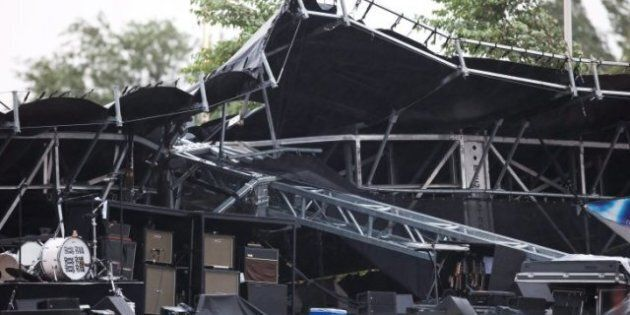 Ottawa Bluesfest Stage Collapse: Thunderstorm Topples Stage While Cheap Trick Performs