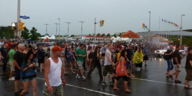 Cheap Trick Stage Collapse: Dramatic Video By Fans At Ottawa Bluesfest