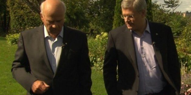 Harper Says Canada Safer, More Confident