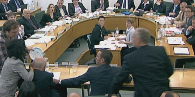 Rupert Murdoch Pie Throwing Incident Overshadows Parliamentary Committee On