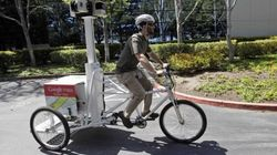 Google Streetview Trike Rolls Into