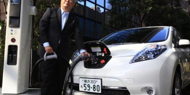 Nissan Develops Cheaper, Smaller Charger For Electric