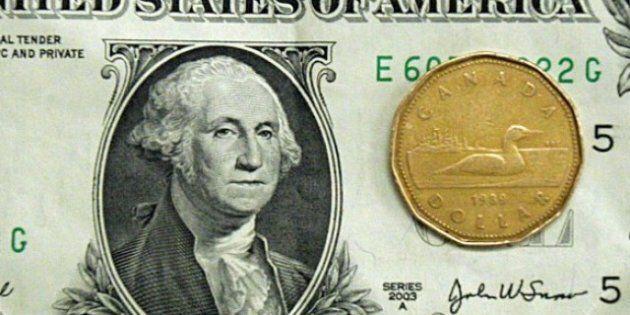 Canadian Dollar Briefly Slips Below Parity Against U.S.