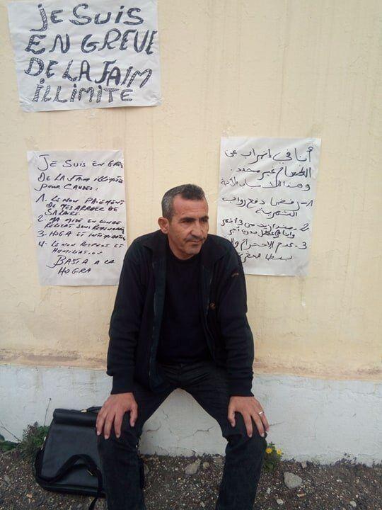 Fodil Mansouri en grève de la faim au siège de la Sonatro à Reghaïa, quelques...