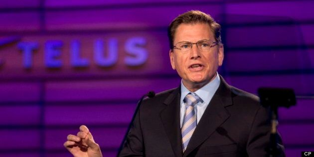 Darren Entwistle, Telus CEO, Seriously Worried About Verizon's Possible Move Into
