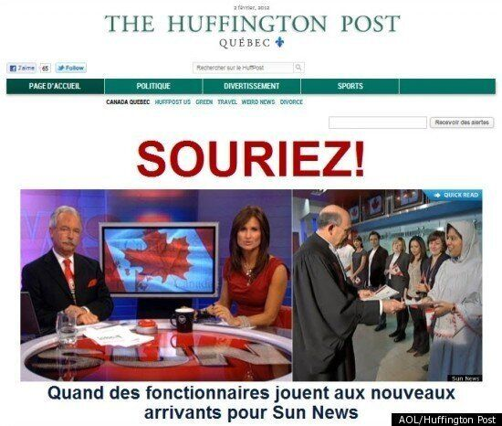 Le Huffington Post Quebec Aims To Bring Pioneering Online Newspaper To French