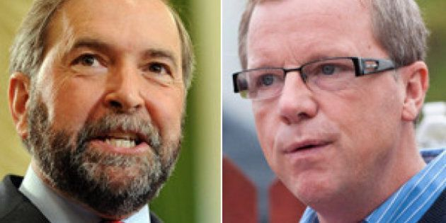 Brad Wall Twitter Posts Target Thomas Mulcair For Statements On