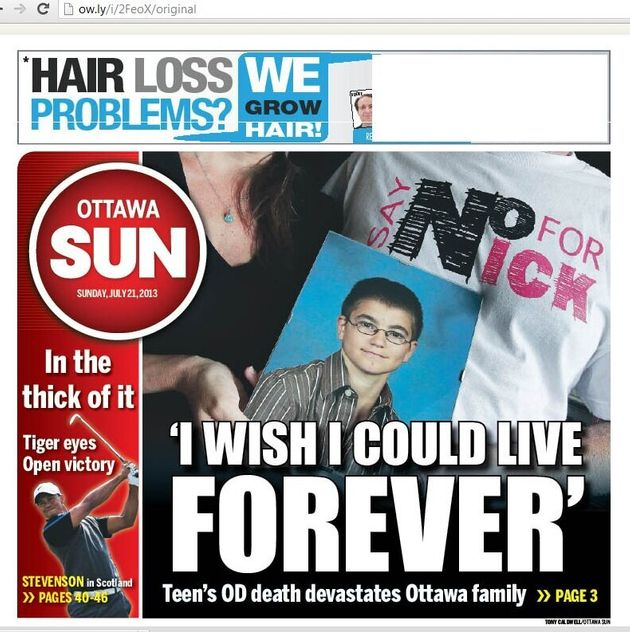 Racism is Front Page News for the Ottawa