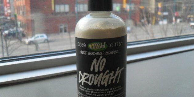 LUSH 'No Drought' Dry Shampoo: Put To The