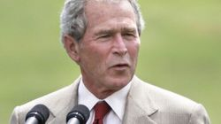 George Bush Speech In Toronto Abruptly