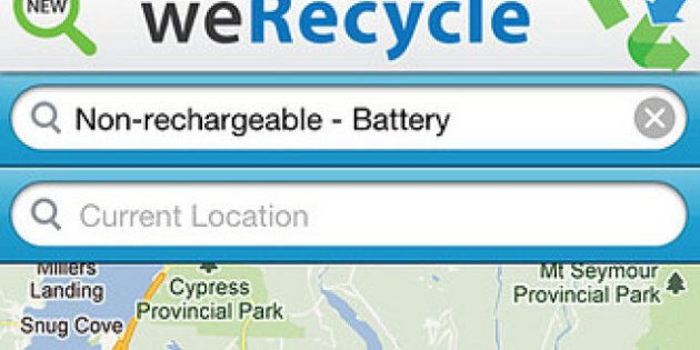 Recycling Apps: City Tools Find The Bin For