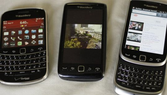BlackBerry Outage Affecting Emails,
