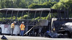 Driver Of Canadian Tour Bus In Fiery NY Crash Was Suspended
