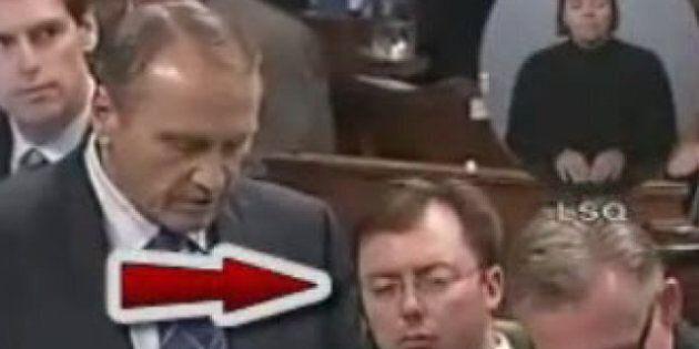 Rob Anders, Sleepy Tory MP: Veterans Affairs Committee