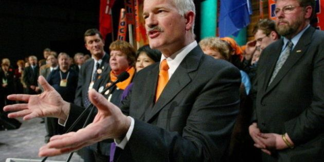 Jack Layton Victory Tie Passed On To Thomas Mulcair As Symbol Of