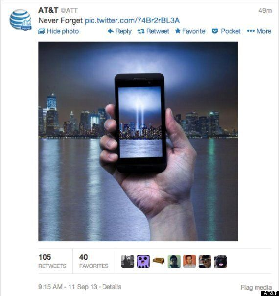 AT&T's 9/11 Tweet Is Bad News For