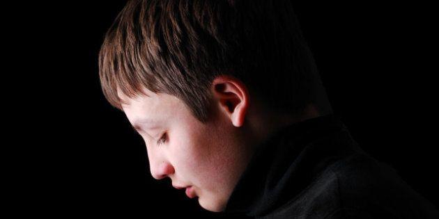 teenage boy is photographed