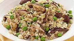 Peas and Thank You: Lemon And Peas Brown Rice