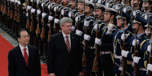 Stephen Harper China Trip: Canada, China Free Trade Talks In The
