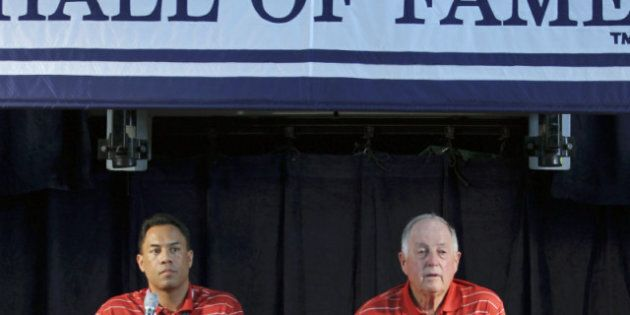 Roberto Alomar, Pat Gillick Head To Baseball's Hall For The Toronto Blue