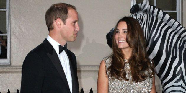 LONDON, ENGLAND - SEPTEMBER 12: Prince William, Duke of Cambridge and Catherine, Duchess of Cambridge...