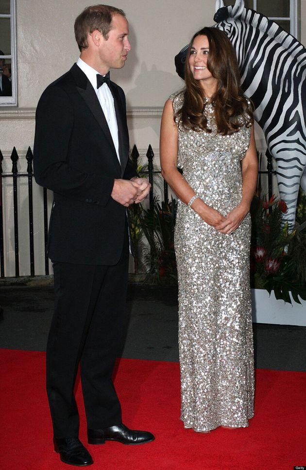 Kate Middleton Dazzles In Jenny Packham Dress At Tusk Foundation Gala