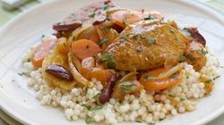 Moroccan Flavoured Turkey And Vegetables With Couscous