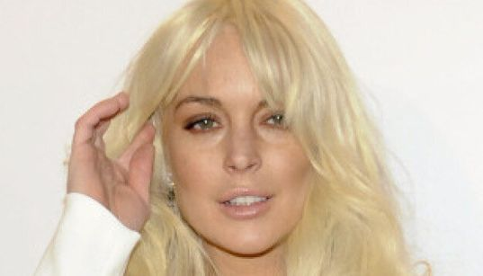 Lindsay Lohan Debuts Startling New Look