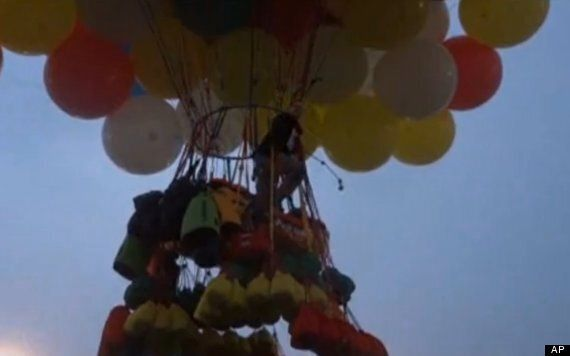Jonathan Trappe, Balloonist, Fails Atlantic Ocean Crossing, Touches Down In