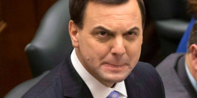Tim Hudak Turfs Randy Hillier As Ontario PC Labour
