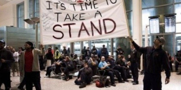 Air Canada Wildcat Strike: Heckling Of Lisa Raitt Turned Into