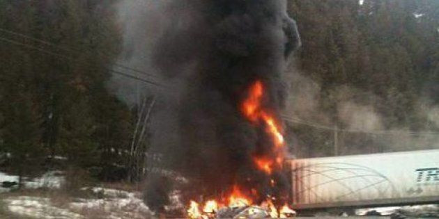 Five family members killed in fiery B.C. crash between SUV and