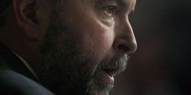Canada Budget 2012: Thomas Mulcair Sends Different Messages To Quebec And Rest Of