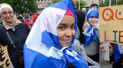 LOOK: Over 1,000 March To Protest Quebec Values